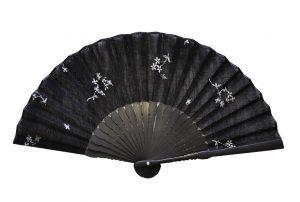 〈婦人用〉刺繍扇子